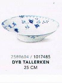 hvide elements tallerkner