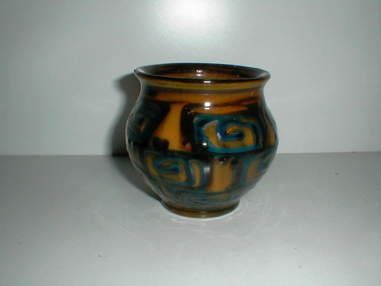 keramik vase kähler Herman A. Kæhler ceramic pottery stoneware Næstved Denmark keramik vase kähler