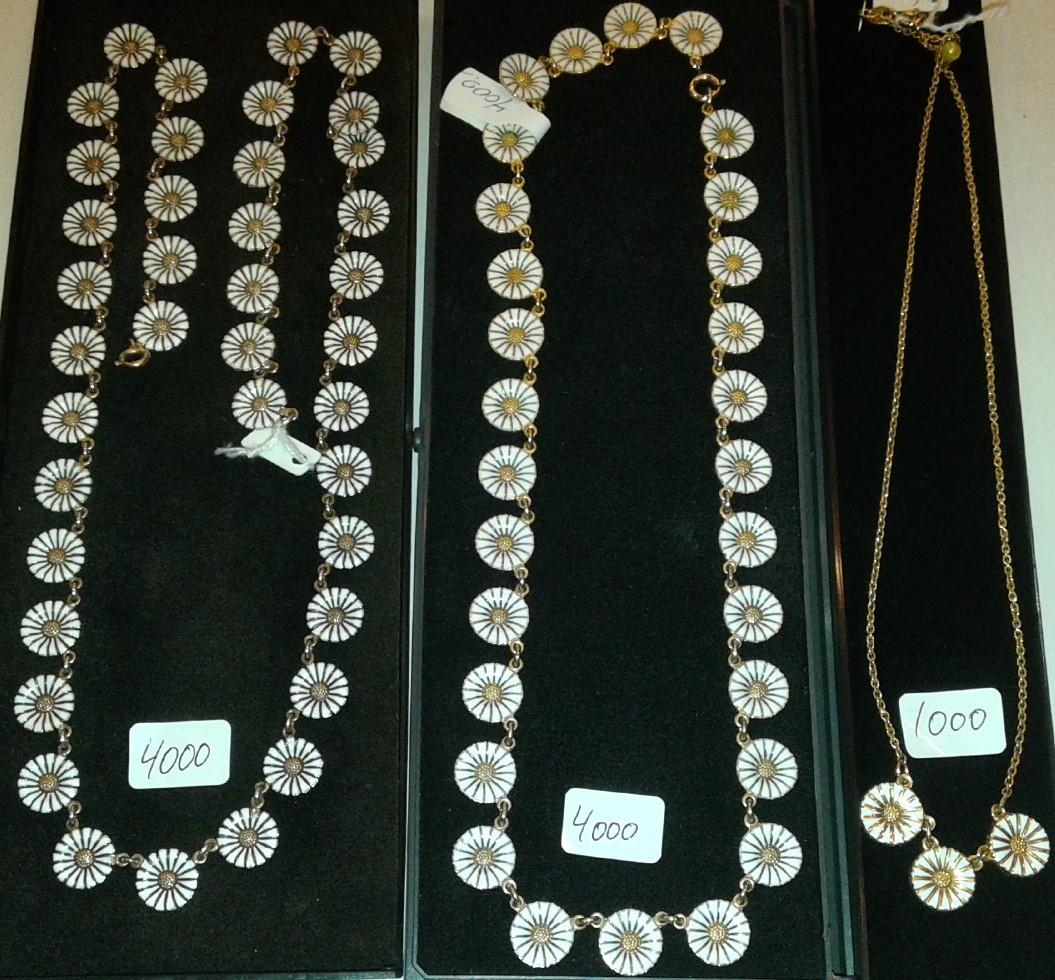 marguerit smykker halskæde
