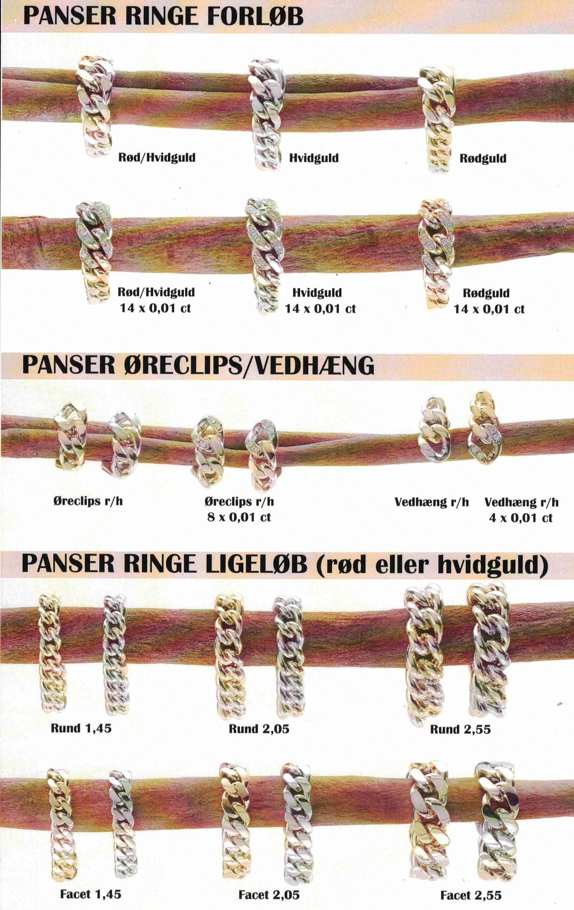 øreringe guld runde ringe