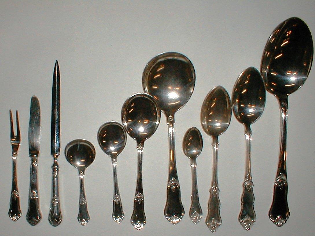 Sølv bestik brugt nyt købes sælges link til andre sølvmønstre