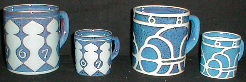 bfb4fe5ffc02 Årskrus kongeligt porcelæn Year Mug Royal Copenhagen feience fajance ...