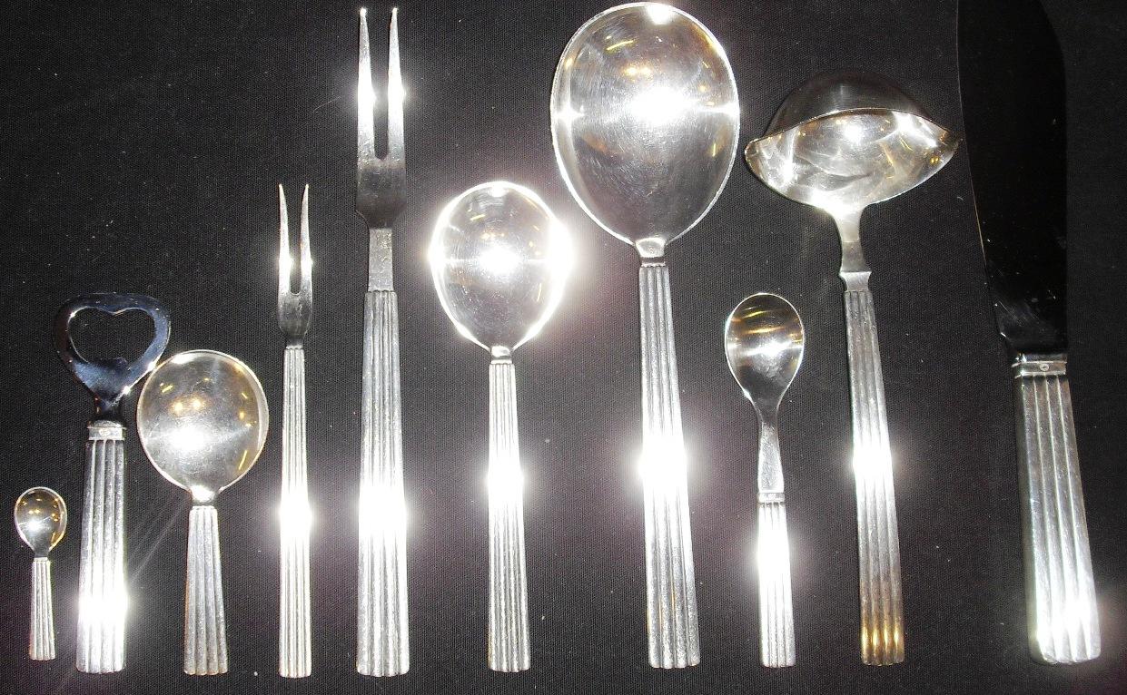 Bernadotte Georg Jensen Bestik Silver Cutlery Sterling Denmark