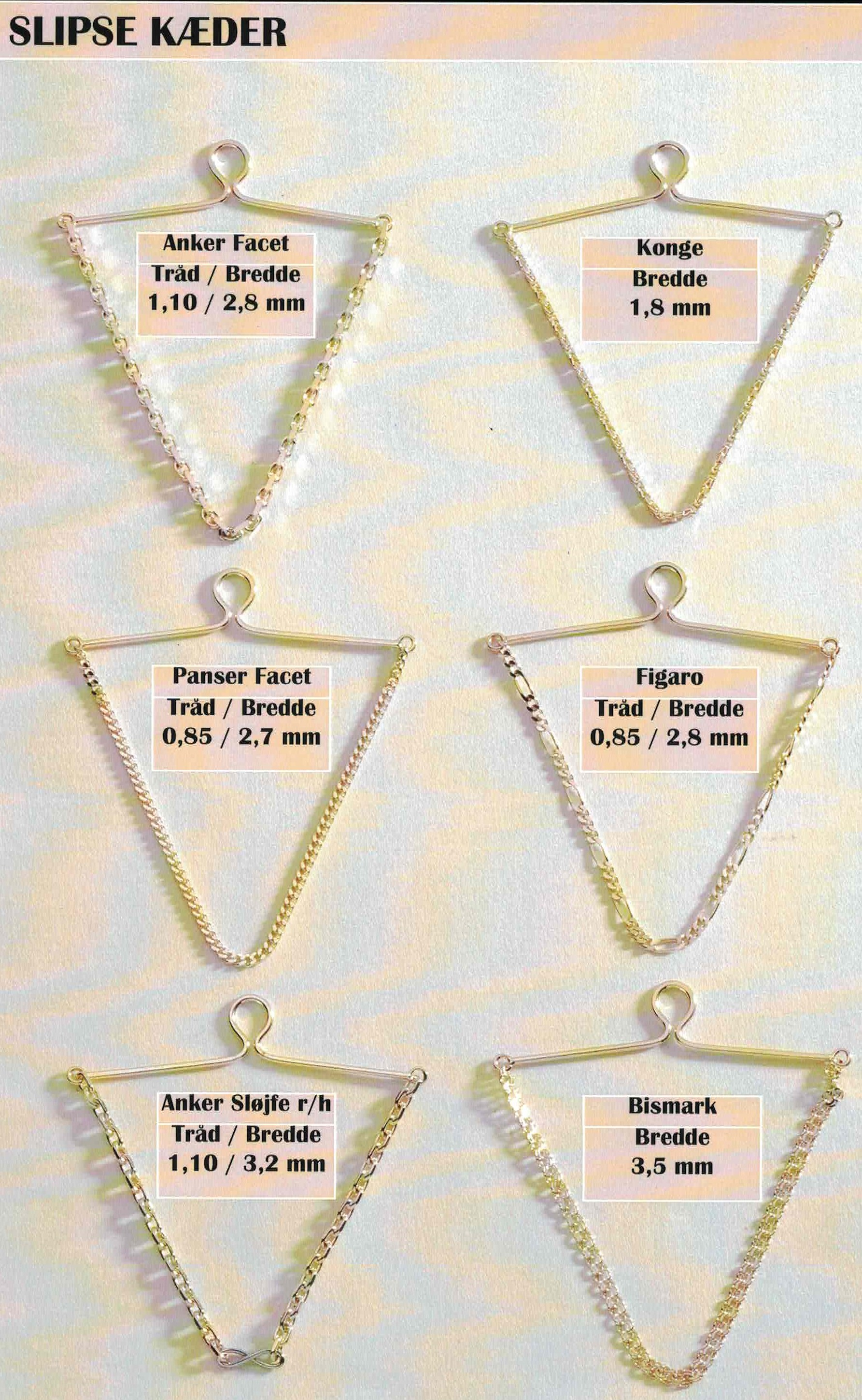 00abe1f041d8 Elskede Smykker guld halskæde armlænke ring broche bismarck mursten XR06