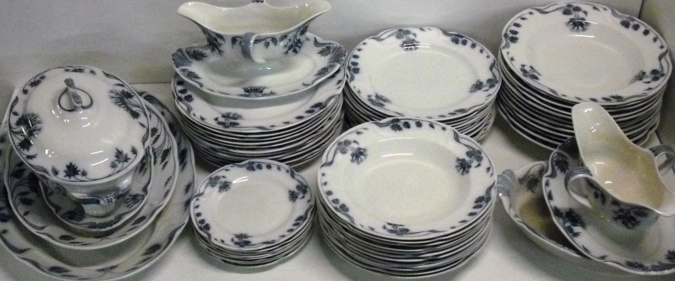 villeroy boch tidsel milla blaa mettlach und. Black Bedroom Furniture Sets. Home Design Ideas