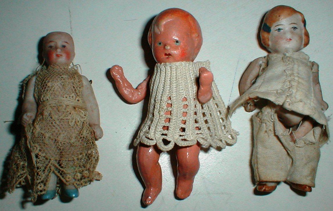 gamle tyske dukker