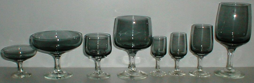 Rørig ATLANTIC HOLMEGÅRD HOLMEGAARD GLAS GLASSES VIN NS-97